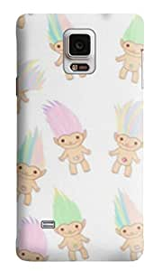 The Fappy Store troll-dollz-1 Hard Back Case Cover For Samsung Galaxy Note 4