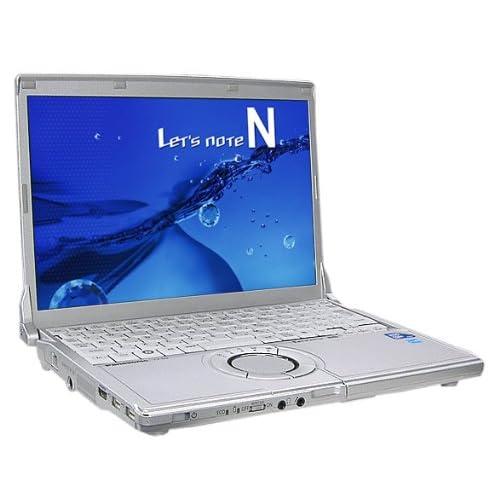 Panasonic Let's note CF-N9 中古ノートパソコン【Windows7 Professional 64bit / Intel Core i5 CPU M520 2.40GHz/メモリ2GB/HDD250GB 】【モバイルノートPC】【レッツノート】