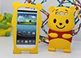 eFuture(TM) Yellow Disney Winnie The Pooh Bear Soft Silicone Case Cover fit for the Samsung Galaxy S3/i9300 +eFuture's nice Keyring