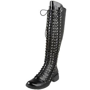 Chocolat Blu Women's Miah Tall Lace-Up Boot