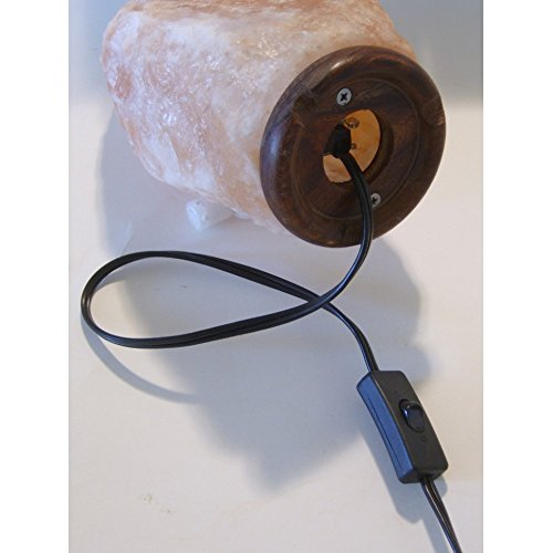 Salt Lamps With Dimmer Switch : Salt Lamp Cord; Dimmer; Wire Clip; UL Listed; 110/120V