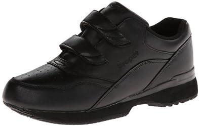 Propet Women's W3902 Tour Walker Velcro Sneaker,Black,5 M (US Women's 5 B)