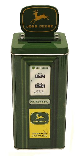 The tin box company The Tin Box Company John Deere Tall Beverage Machine Bank