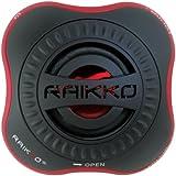 Raikko Nano Vacuum Speaker Mini Aktiv Lautsprecher (3,5mm Klinkenstecker, 2,5 Watt, USB, Akku), schwarz