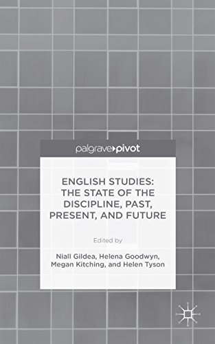 Niall Gildea - English Studies: The State of the Discipline, Past, Present, and Future