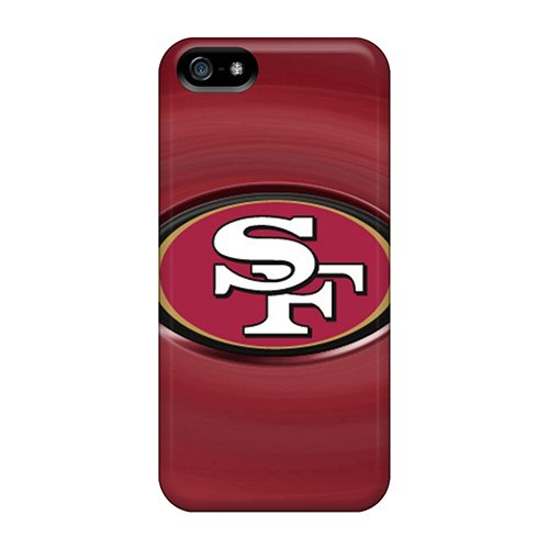 Hard Plastic Iphone 5/5S Case Back Cover,Hot San Francisco 49Ers Case At Perfect Diy
