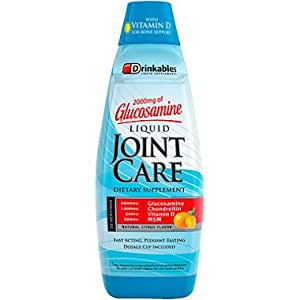 Drinkables Ultimate Liquid Joint Care, Natural Citrus, 33 Ounces