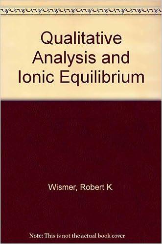 Qualitative Analysis With Ionic Equilibrium
