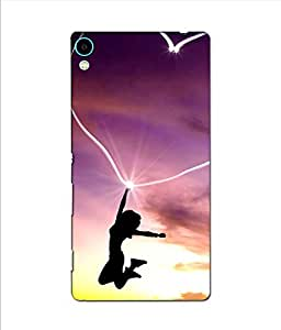 3D instyler DIGITAL PRINTED BACK COVER FOR SONY XPERIA C6