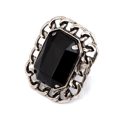 Styonal Styonal Metal Ring For Women ( Silver )