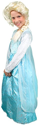 My Costume Wigs Ice Queen Dress and Wig Set Medium (3-5yrs)
