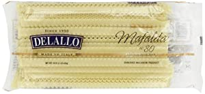 Delallo Mafalda Pasta, 16-Ounce Packages (Pack of 8)