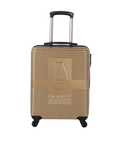 Azzaro Trolley rígido 6050 Marrón Claro 61 cm