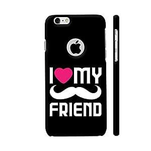 Colorpur I Love My Friend Artwork On Apple iPhone 6 / 6s Logo Cut Cover (Designer Mobile Back Case) | Artist: Designer Chennai