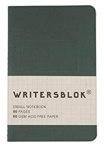 Writersblok Small Notebook, Ruled, Pack of 3 (WB701)