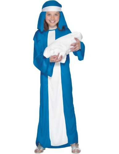 Child Virgin Mary Fancy Dress Costume