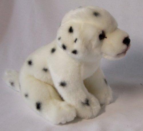 Hund Dalmatiner sitzend 23 cm Plüschhund Kuscheltier