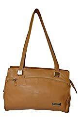 Adbeni Womens Stylish Genuine Leather Handbag-Brown HBCL-08