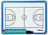 ミカサ バスケットボール作戦盤(小) ブルー クリアーケース付 SBBS-B