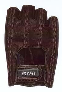 LEZAX(レザックス) JOYFIT ドライビンググローブ 半指羊革 濃茶 SF-4BR