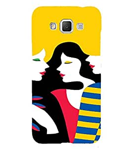 PrintVisa Gossip Girls Art 3D Hard Polycarbonate Designer Back Case Cover for Samsung Galaxy Grand MAX