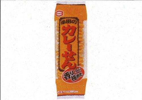 亀田のカレーせん 18枚×12袋