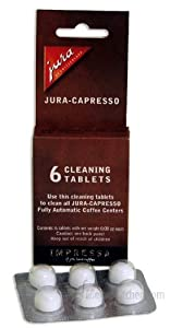 Capresso 115112 Cleaning Tablets - 6-Pack by Capresso