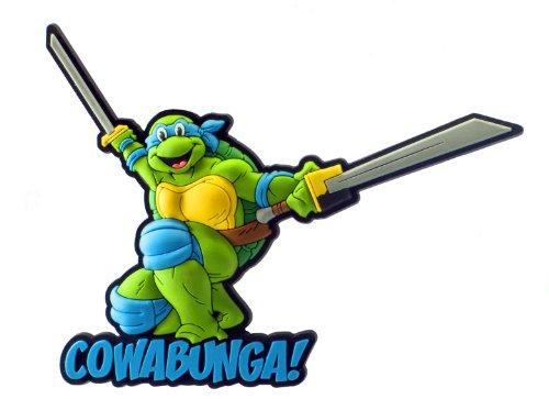Nickelodeon Leonardo Soft Touch PVC Magnet