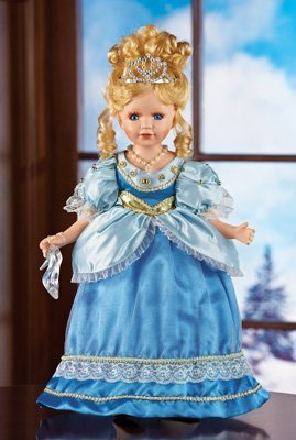 Princess Cynthia Collectible Doll with gift bag and piull tie bow
