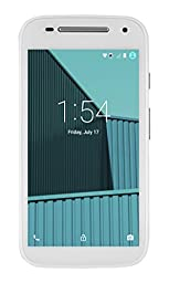 FreedomPop Moto E LTE 2nd Gen. LTE - White - No Contract (Certified Refurbished)