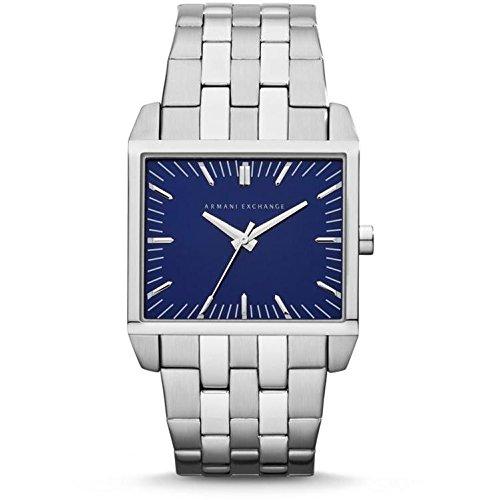 Armani Exchange AX2216 32X38mm Silver Steel Bracelet & Case Mineral Men's Watch