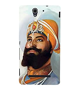 King Painting 3D Hard Polycarbonate Designer Back Case Cover for Sony Xperia C3 Dual :: Sony Xperia C3 Dual D2502