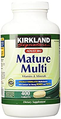Kirkland Signature, Mature Adult Multi Vitamin
