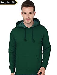 Men's Hooded Sweatshirt-360 (Olive Green Colour)