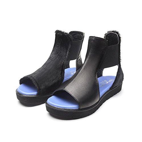 Tipe e Tacchi / sandali donna colore tomaia/cavallino nero