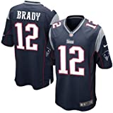 Tom Brady New England Patriots NFL Blue Game Jersey