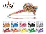 #8: 6er Sparpack im Farbmix-Set! ORIGINAL NASARA Kinesiologisches Physio Tape in praktischer Box – Vom Deutschen Olympischen Sportbund empfohlenes Tape für Sport und Medizin in vielen tollen Farben! Markenqualität von Nasara – 5cm x 5m