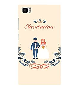 EPICCASE Getting married Mobile Back Case Cover For Xiaomi Mi3 (Designer Case)