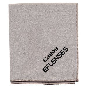 Canon EF Lenses Microfiber Cleaning Cloth for Digital SLR Cameras and Lenses