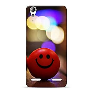 Mobile Back Cover For Lenovo A6000 Plus (Printed Designer Case)