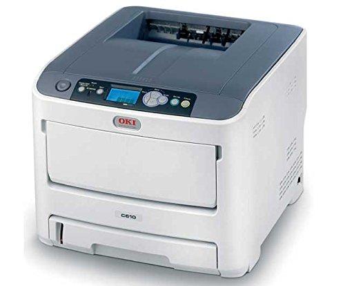 Oki C610N Led Printer - Color - 1200 X 600 Dpi Print - Plain Paper Print - Desktop - 34 Ppm Mono / 32 Ppm Color Print - 400 Sheets Input - Fast Ethernet - Usb