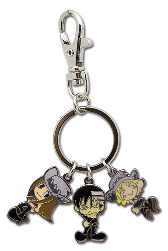 Soul Eater: Death The Kid & The Thompson Sister Met Keychain