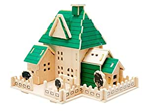 Educational toy 3d puzzle craft for 6 7 8 for Crafts for 6 year old boy