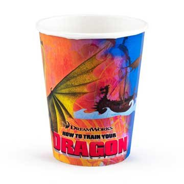 How To Train Your Dragon 9 oz Cups 8 count