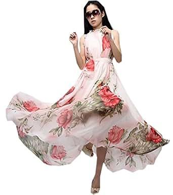 xinliya womens maxi skirt onepiece dress beach long