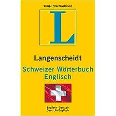 Schweizer Wörterbuch Englisch