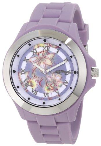 Ed Hardy Women's MT-PU Mist Purple Watch