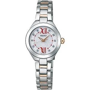 セイコー SEIKO 腕時計 TISSE ティセ 佐々木希プロデュース ソーラー NOZOMI Special Edition ホワイトラメ スワロフスキー入り SWFA071 レディース