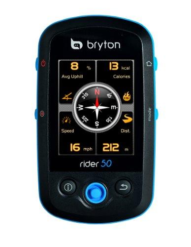 Bryton Rider 50T con Misuratore di Frequenza di Pedalata e Cardiofrequenzimetro