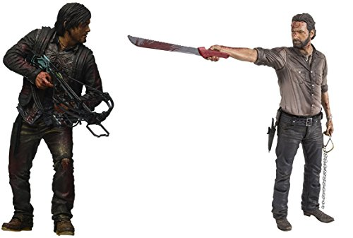 "Action Figures The Walking Dead TV Series Daryl Dixon & Rick Grimes 10"" Hero Series Toys"